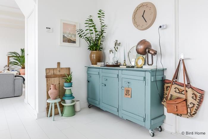 XL Hometour binnenkijken mijn turquoise kast©BintiHome