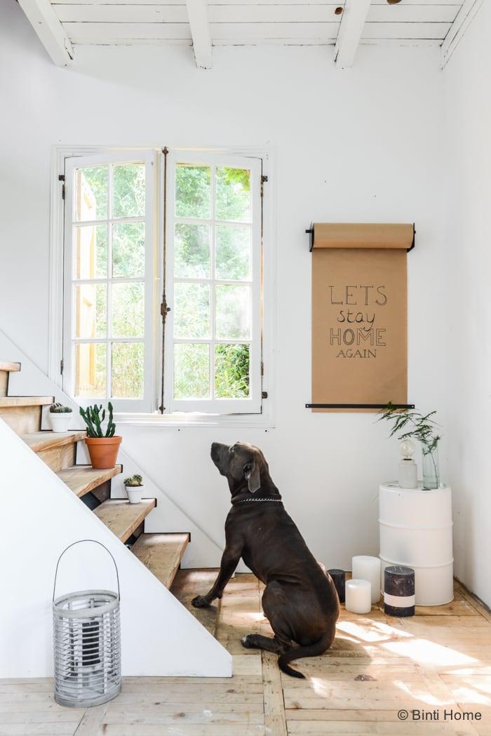 Fotografie Yaya Home papierrol notitie woonkamer modern vintage ©BintiHome