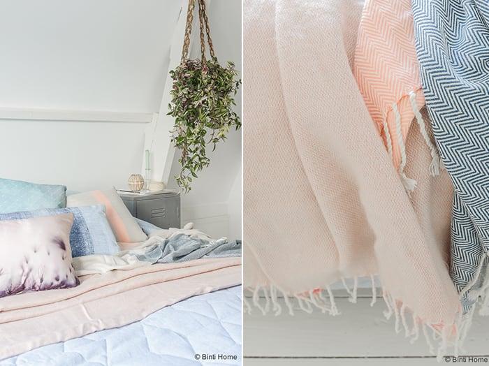 Beddinghouse slaapkamer styling Kaat Amsterdam kussens ©BintiHome