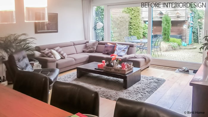 Eigen Huis En Tuin : BEFORE Interieurontwerp woonkamer Eigen Huis en ...