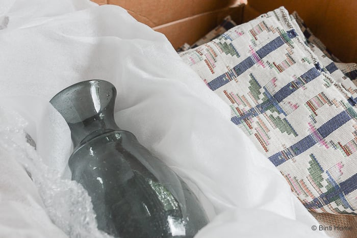 Binti Home Daily Olla vaas transport uit Egypte ©BintiHome