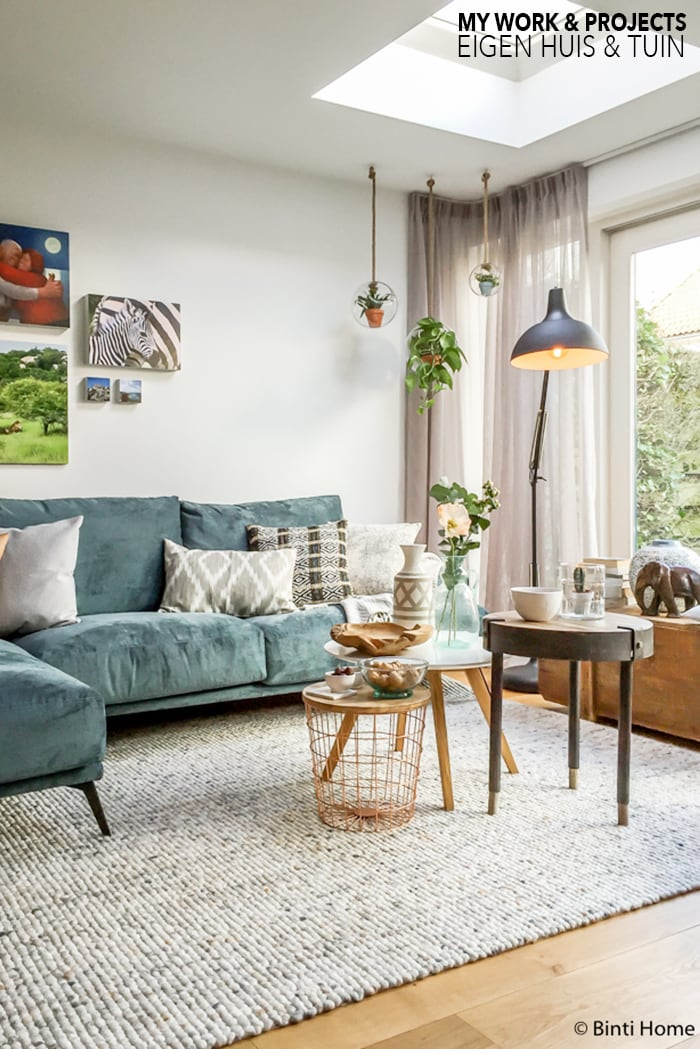 Interiordesign livingroom for eigen huis tuin rtl4 for Huis in tuin