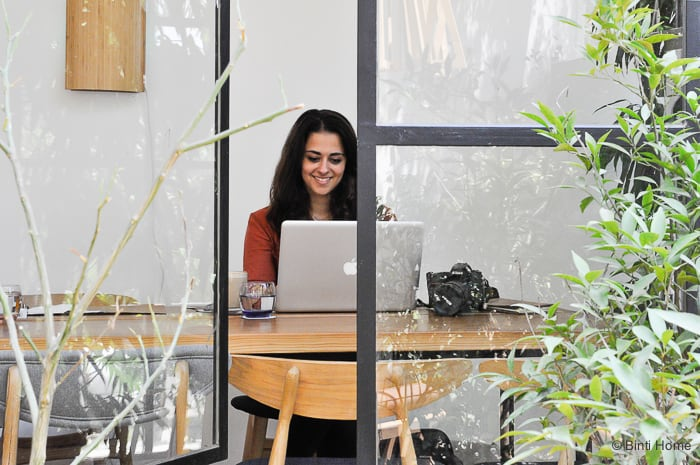 Blogger Souraya Hassan Interior inspiration restaurant Ampersand Zamalek Caïro ©BintiHome