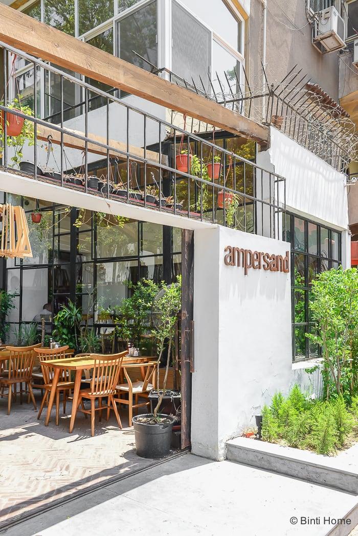 Interior inspiration restaurant Ampersand Zamalek Cairo ©BintiHome
