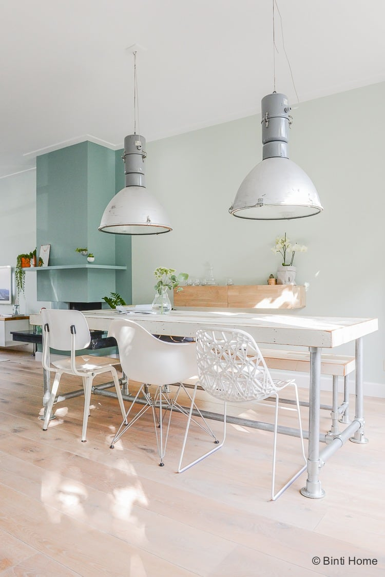 Interieurontwerp woonkamer jaren 30 huis inrichten in for Eettafel scandinavisch