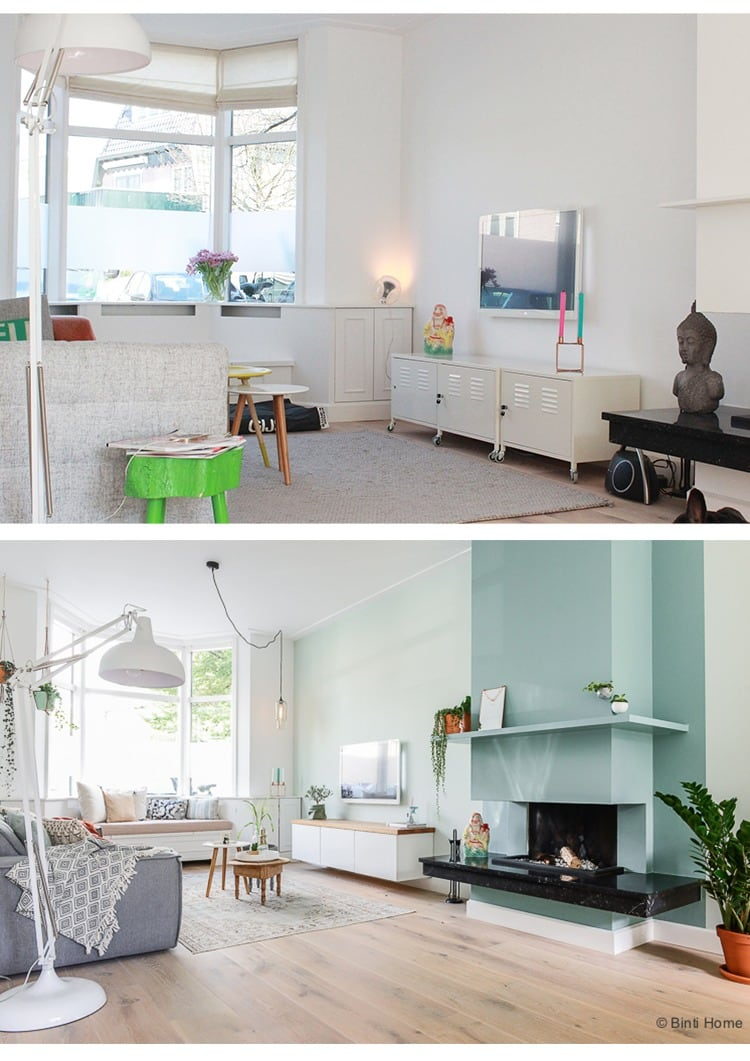 Interieurontwerp woonkamer jaren 30 huis inrichten in for Huis laten inrichten