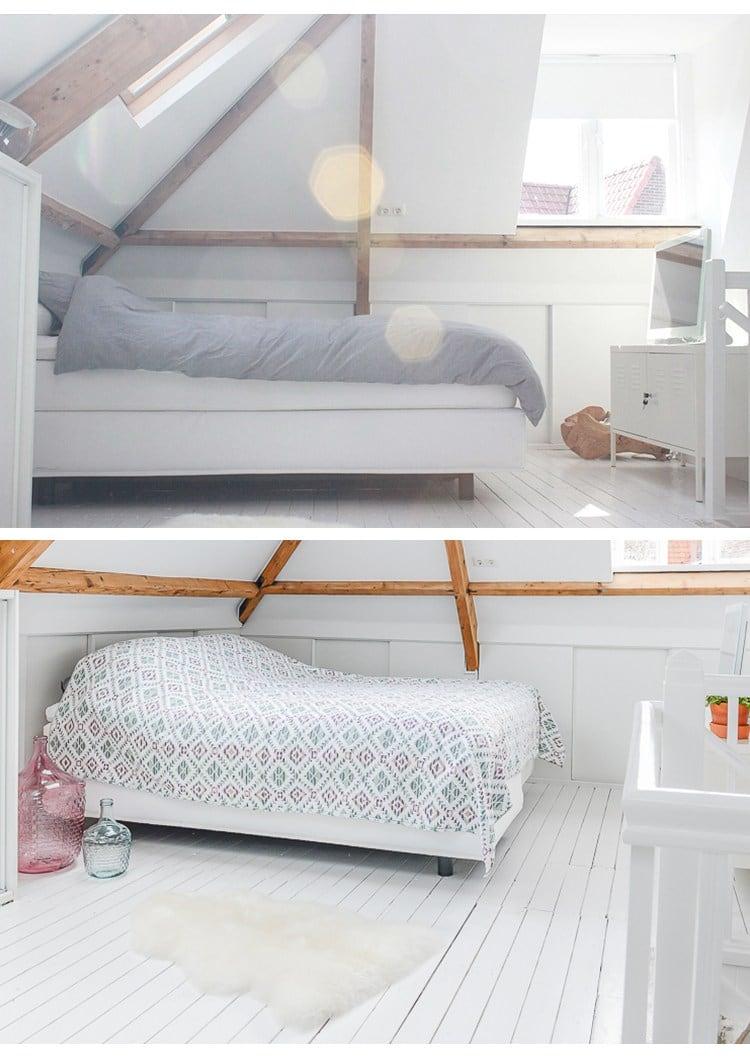 Huis inrichten slaapkamer makeover Haarlem ©BintiHome