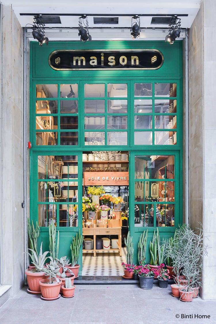 Flower shop Cairo : Joie de Vivre at new hotspot Maison69