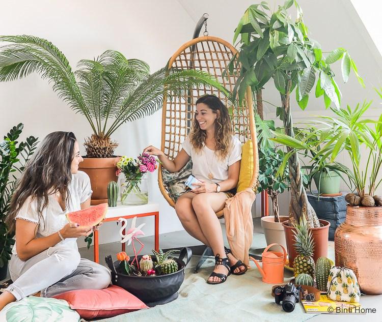 Tropicool zomer thema op de zolder – Urban Jungle Bloggers