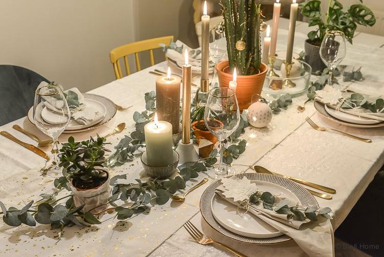 Kersttafel decoratie kerstdiner 1e kerstdag 2e kerstdag Xenos 2017 ©BintiHome