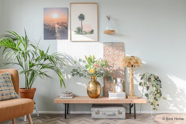 Woonkamer Inrichten Glamour : Woonstijl bohemian chic toepassen in de woonkamer