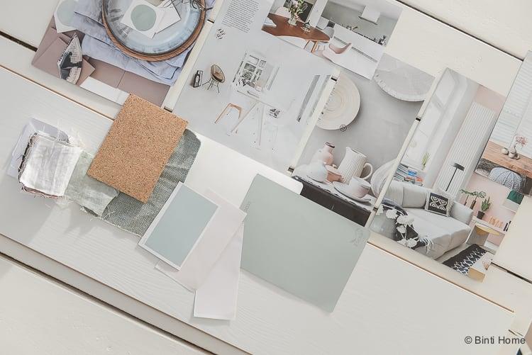 Vloer inspiratie moodboard en kleurtips Douwes Dekker laminaat vloer Royaal wit gelakt ©BintiHome