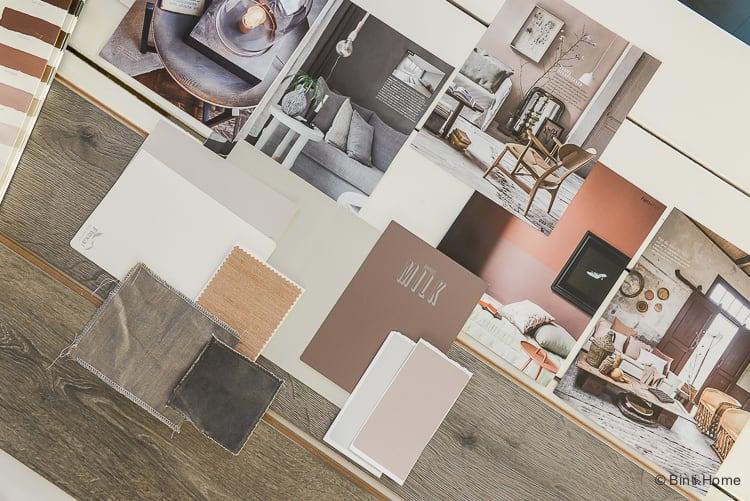 Vloer inspiratie moodboard en kleurtips Douwes Dekker laminaat vloer Tijdloos eiken grijs ©BintiHome