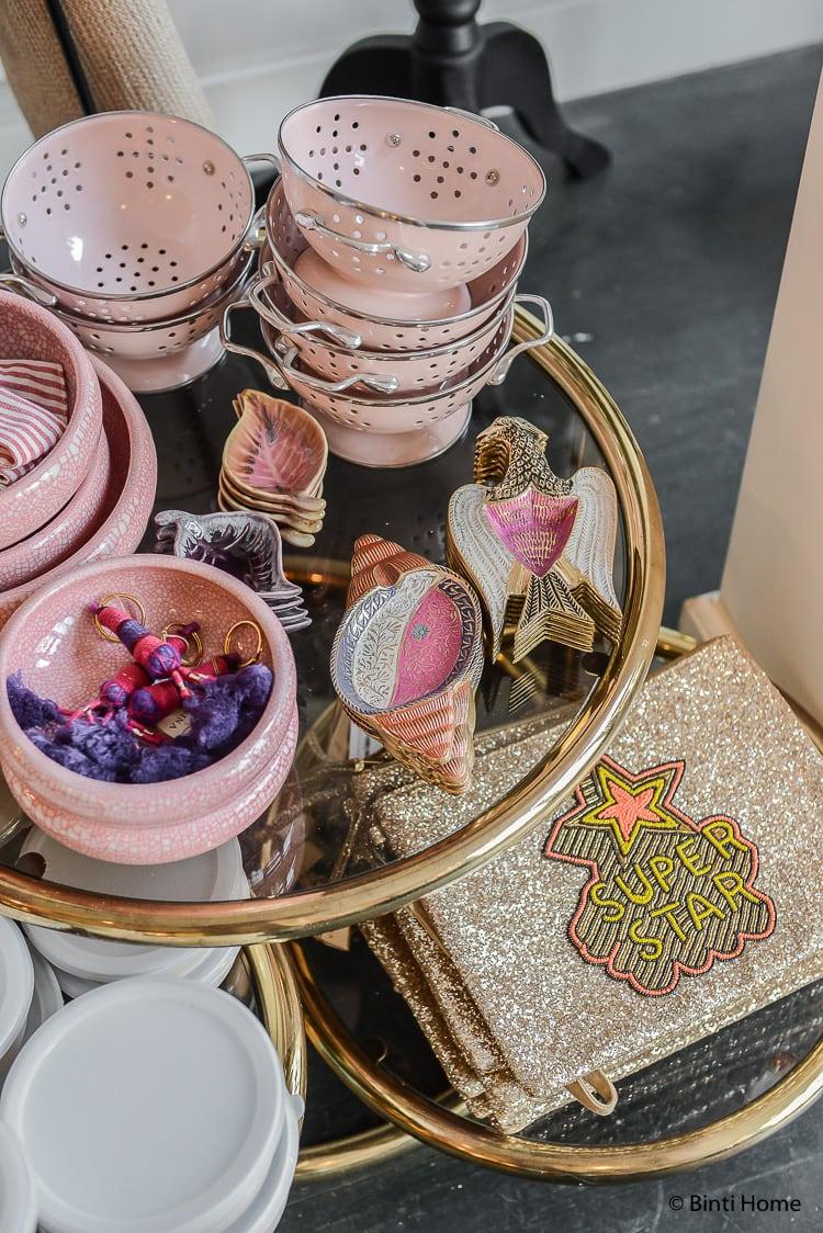 Anna+Nina Amsterdam de Pijp conceptstore roze en goud ©BintiHome