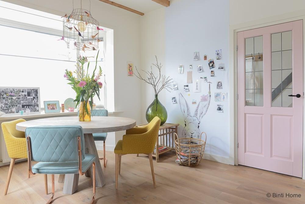 jaren 30 huis inrichten verbouwen advies pastel kleuren bintihome