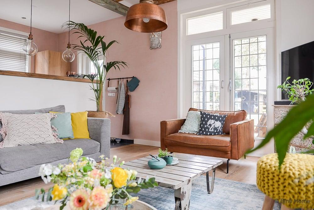 Jaren 30 huis inrichten verbouwen advies pastel kleuren ©BintiHome16