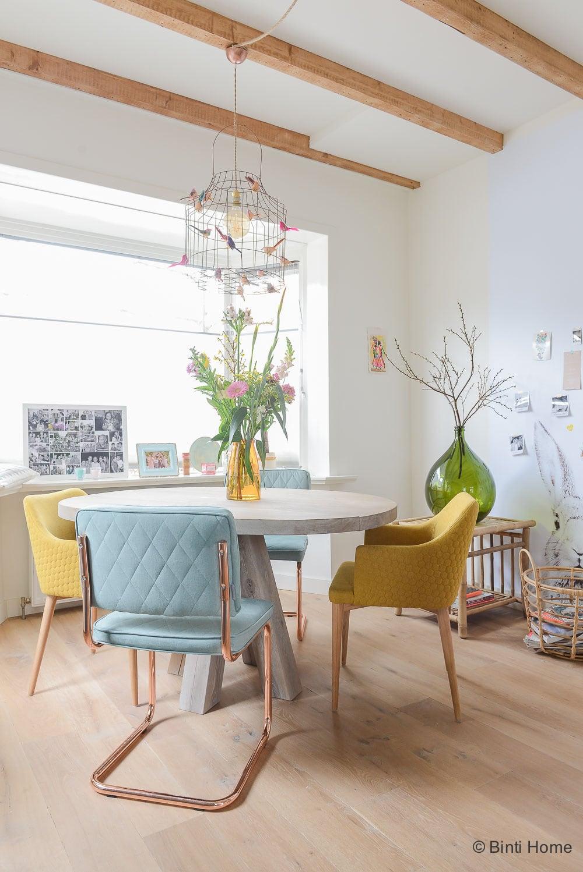 Jaren 30 huis inrichten verbouwen advies pastel kleuren ©BintiHome2