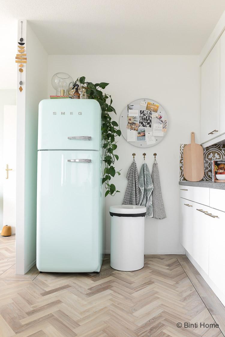Inspiratie stylingtips keuken in een huurwoning ©BintiHome