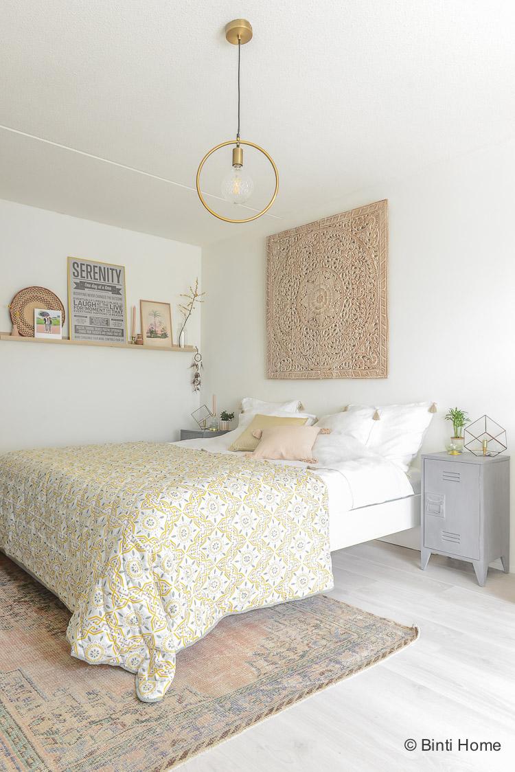 Oosterse slaapkamer styling tips ©BintiHome