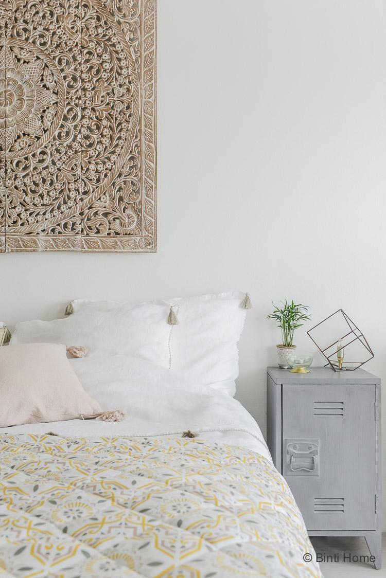 Oosterse slaapkamer styling tips arabisch bedsprei ©BintiHome