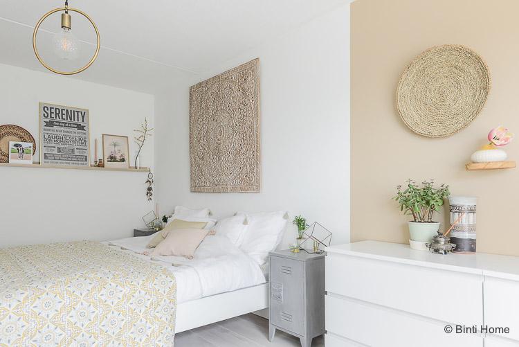 Oosterse slaapkamer styling tips inrichting ©BintiHome