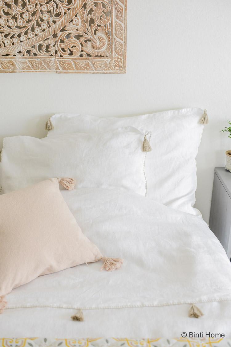 Oosterse slaapkamer styling tips lisbon dekbedovertrek House in Style ©BintiHome