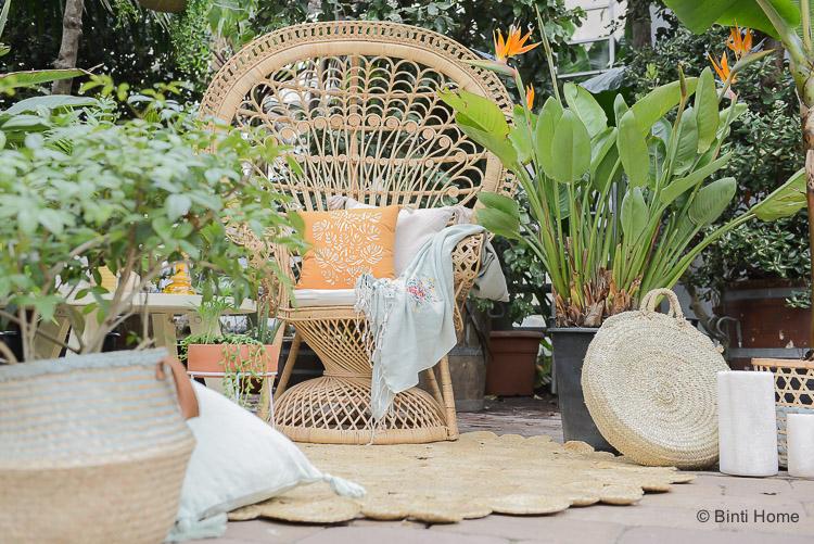 Tuintrends 2018 Rotan riet tuinmeubelen voor Stek Magazine april ©BintiHome