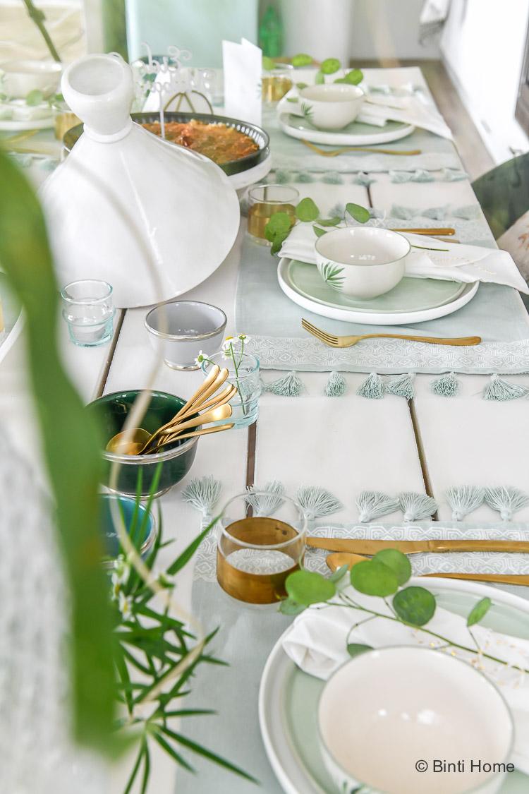 Ramadan vlog Suikerfeest tafel styling ©BintiHome_-6