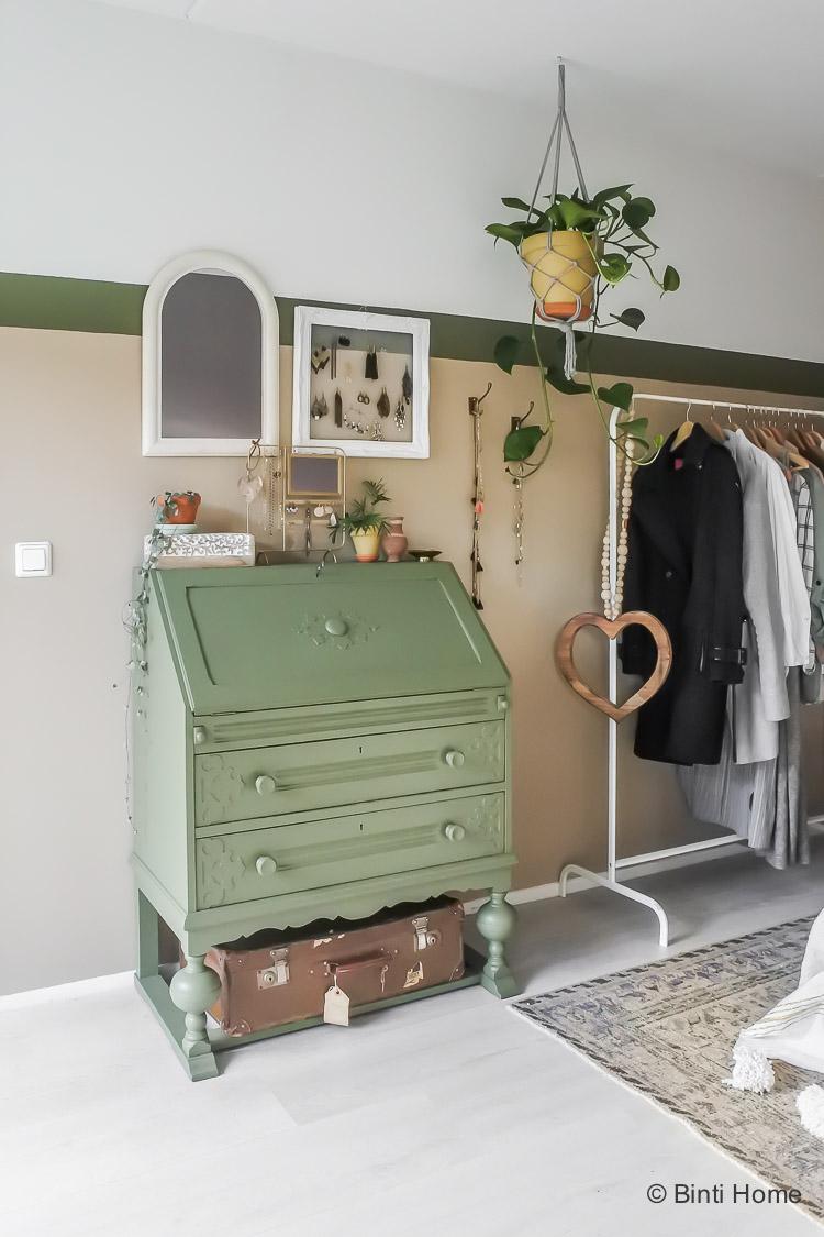 HeartWood combineren met kleur groen AkzoNobel campagne slaapkamer inrichten Souraya Hassan totaalbeeld ©BintiHome