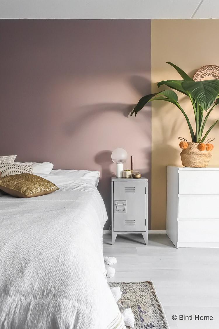 Heart Wood combineren met de kleur groen in de slaapkamer
