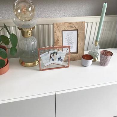 Wown by Binti Home tafellamp glas en goud WOWN Kwantum Instagram BijkimenMilainhuis