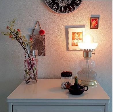 Wown by Binti Home tafellamp glas en goud WOWN Kwantum Instagram Heleen Nijland