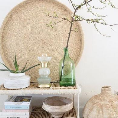 Wown by Binti Home tafellamp glas en goud WOWN Kwantum Instagram Lauraverschuur