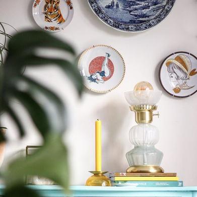 Wown by Binti Home tafellamp glas en goud WOWN Kwantum Instagram Prachtig88