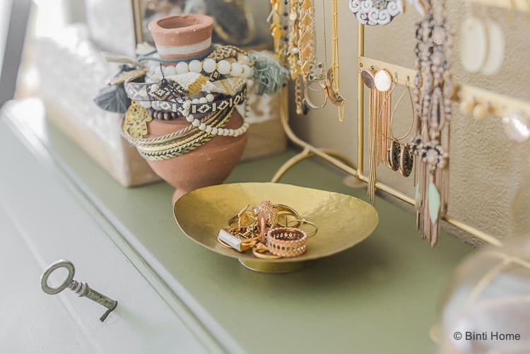 Opbergtips sieraden in mijn slaapkamer ©BintiHome-13