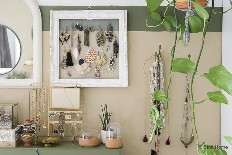 Planten Slaapkamer Baby : Opbergtips voor sieraden in onze slaapkamer persoonlijke diy