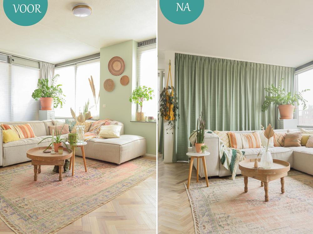 Gordijnen kiezen voor de woonkamer