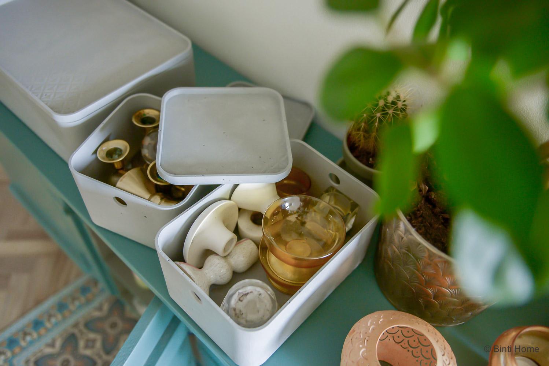 Dozen met kaarsen en accessoires ©BintiHome