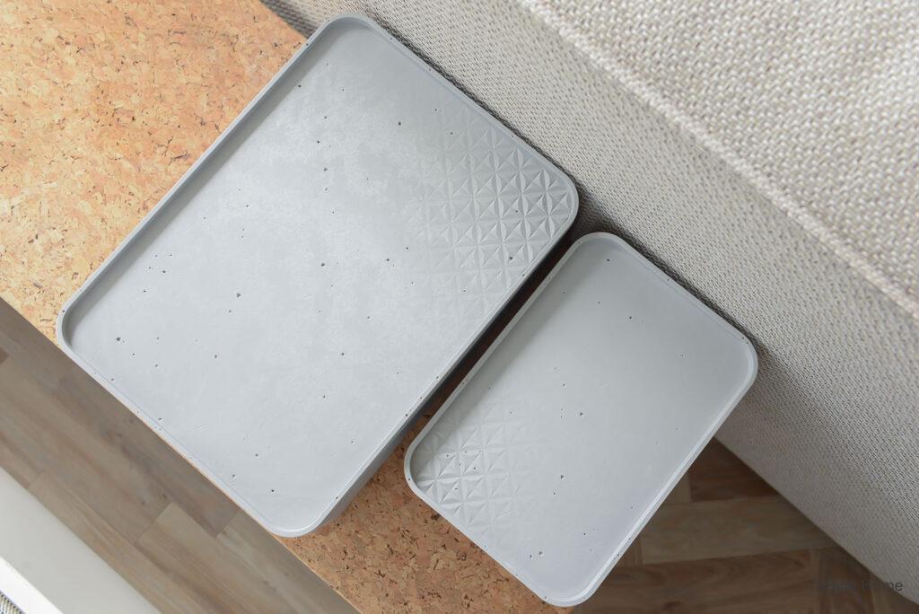 Opbergboxen van Curver in huis ©BintiHome