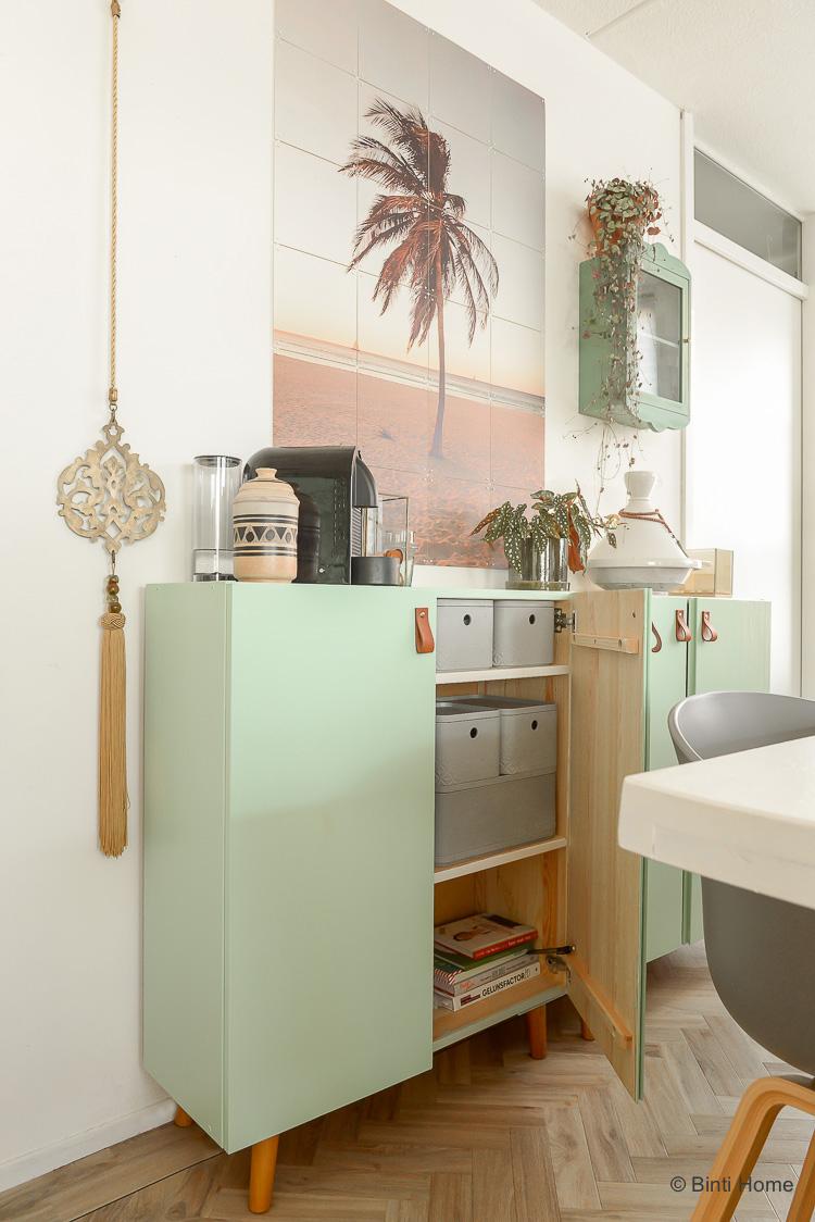 Opruimtips met een Ikea Hack en opbergdozen ©BintiHome