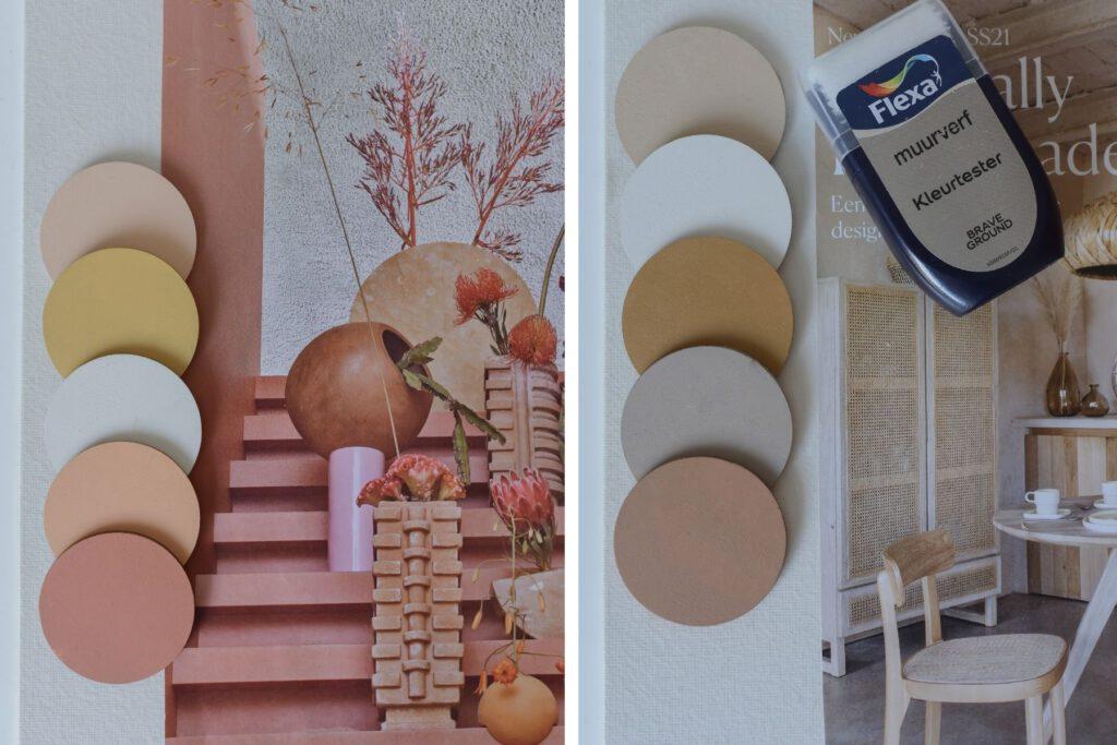 Naturellen of warme aardetinten voor jouw interieur ©BintiHome