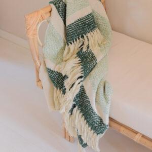 Malagoon Berber groen plaid ©BintiHome-2